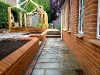 Michelmersh bricks with saddleback copings