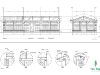 Contemporary Outhouse - Construction Drawing - Details