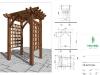 Bespoke Oak Pergola Design