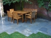 Storm Grey coloured natural stone paving