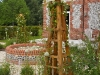 Custom built Oak Obelisks