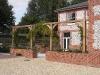 Custom built Oak structure to enclose Terrace