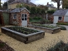 Raised Oak Vegetable Planters
