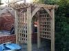 Oak archway