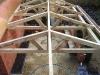 Seasoned oak frame