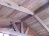 Oak T & G to undeside of roof