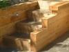 Oak and slate steps