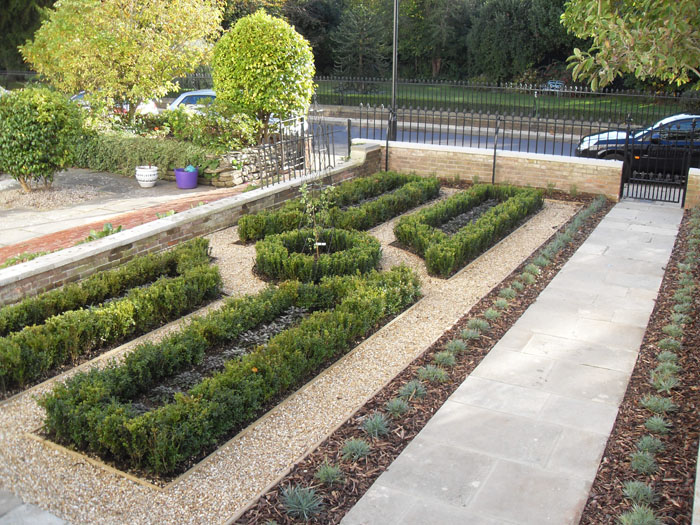 Garden Design Portfolio U2013 The Box Knot Garden   New Leaf Landscapes,  Hampshire
