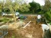 Garden under construction
