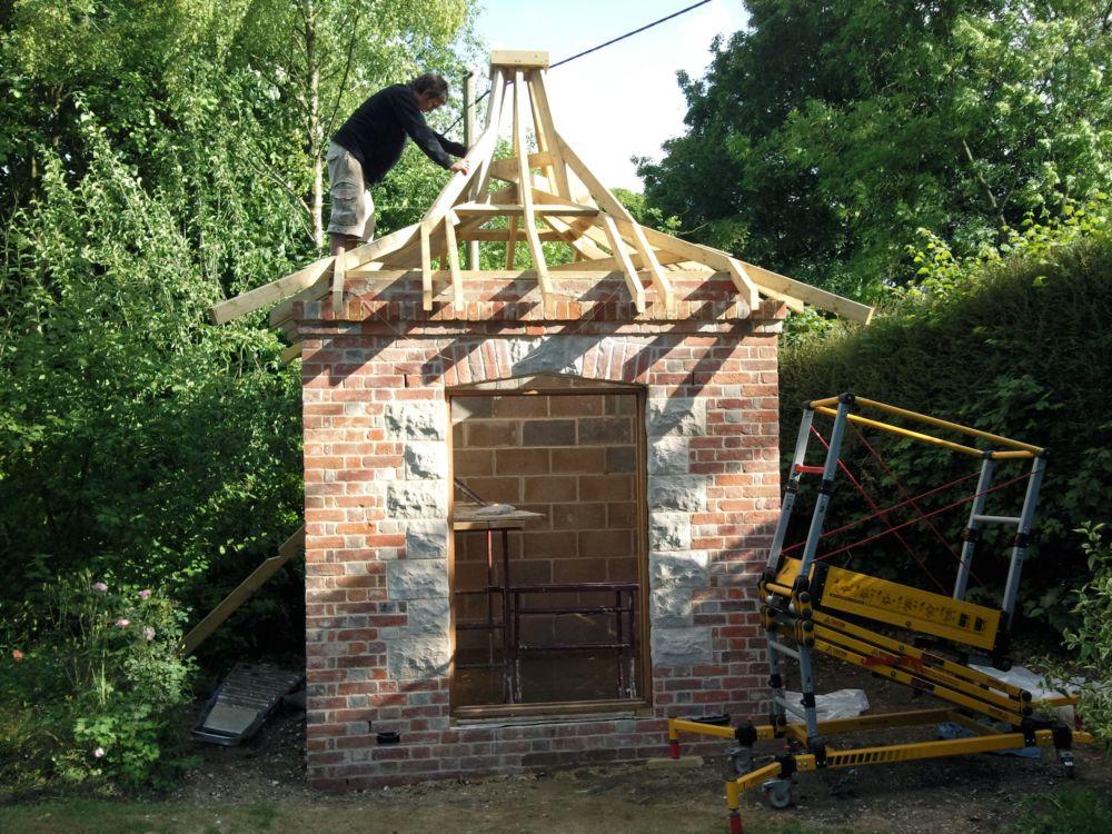 Summer House Construction Process