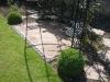 Reclaimed stone & sett seating patio