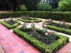 The Knot Garden - Reclaimed York Stone & Bricks - Box edged beds planted with scented Roses