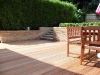 A low maintenance deck area which is advised to have a preservative treatment every 1-2 years to ensure longevity