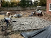 Reclaimed Granite Cobble Court Yard - Work In Progress