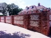 Lands Handmade Brick & Flint Wall - Complete