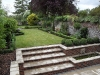 Lots of lovely Buxus sempervirens in this formal layout