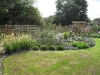 Large herbaceous borders