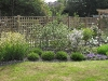Deep herbaceous borders in the Meon valley