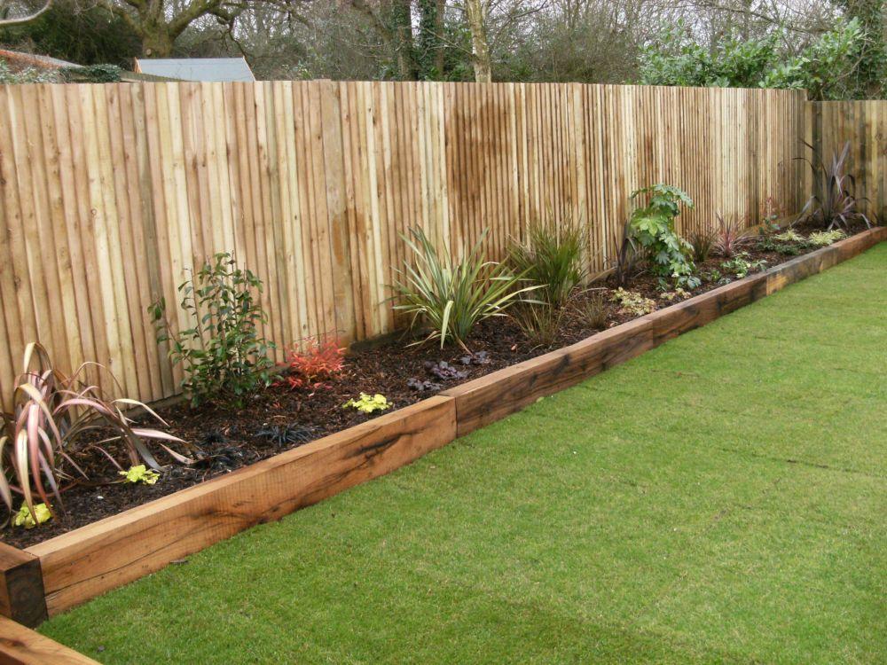 garden design portfolio materials and features raised
