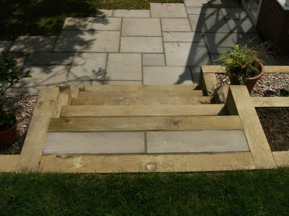 Garden Design Portfolio - Sleepers, Steps & Stone - New ...