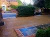 Romsey aggregate driveway - Yorkstone Path