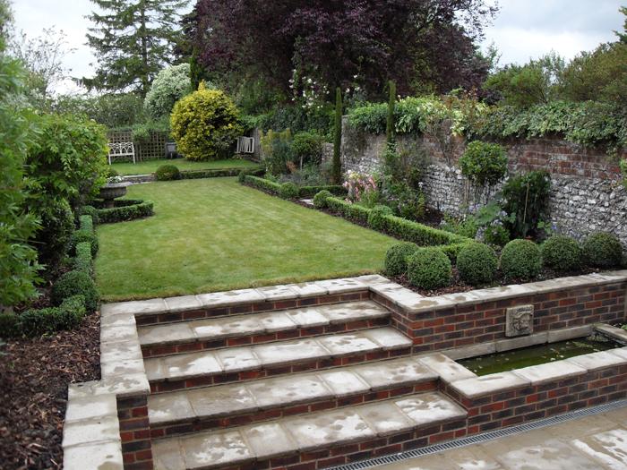 Garden Design York garden design portfolio - materials and features – step sections