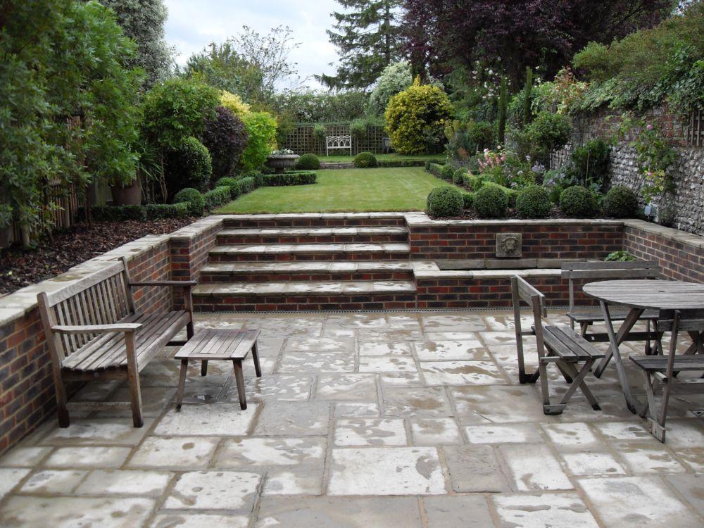 Garden Design York Uk garden design portfolio - materials and features – step sections